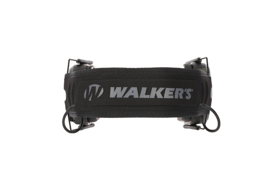 Walkers Razor Slim Electronic Hearing Muffs with MultiCam Black Finish and 23dB Noise Reduction Rating