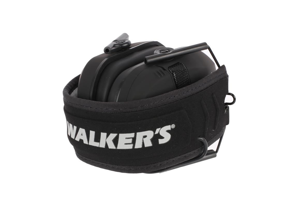 Walker's Razor Slim Electronic Muffs - Black