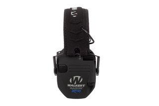 Walkers Razor X TRM hearing protection comes in black