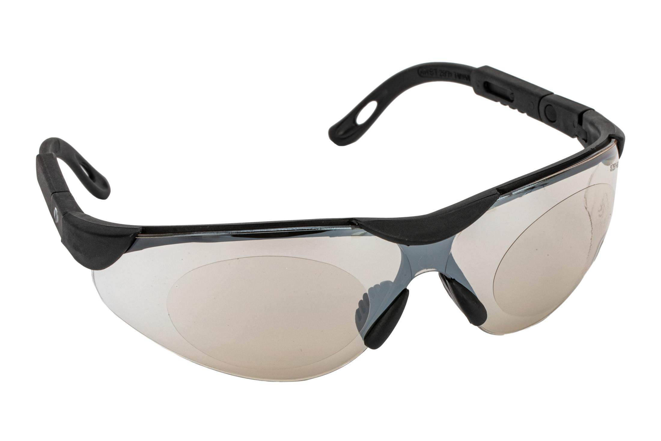 The Walkers Elite Sport Safety Glasses feature polycarbonate ice blue impact resistant lenses
