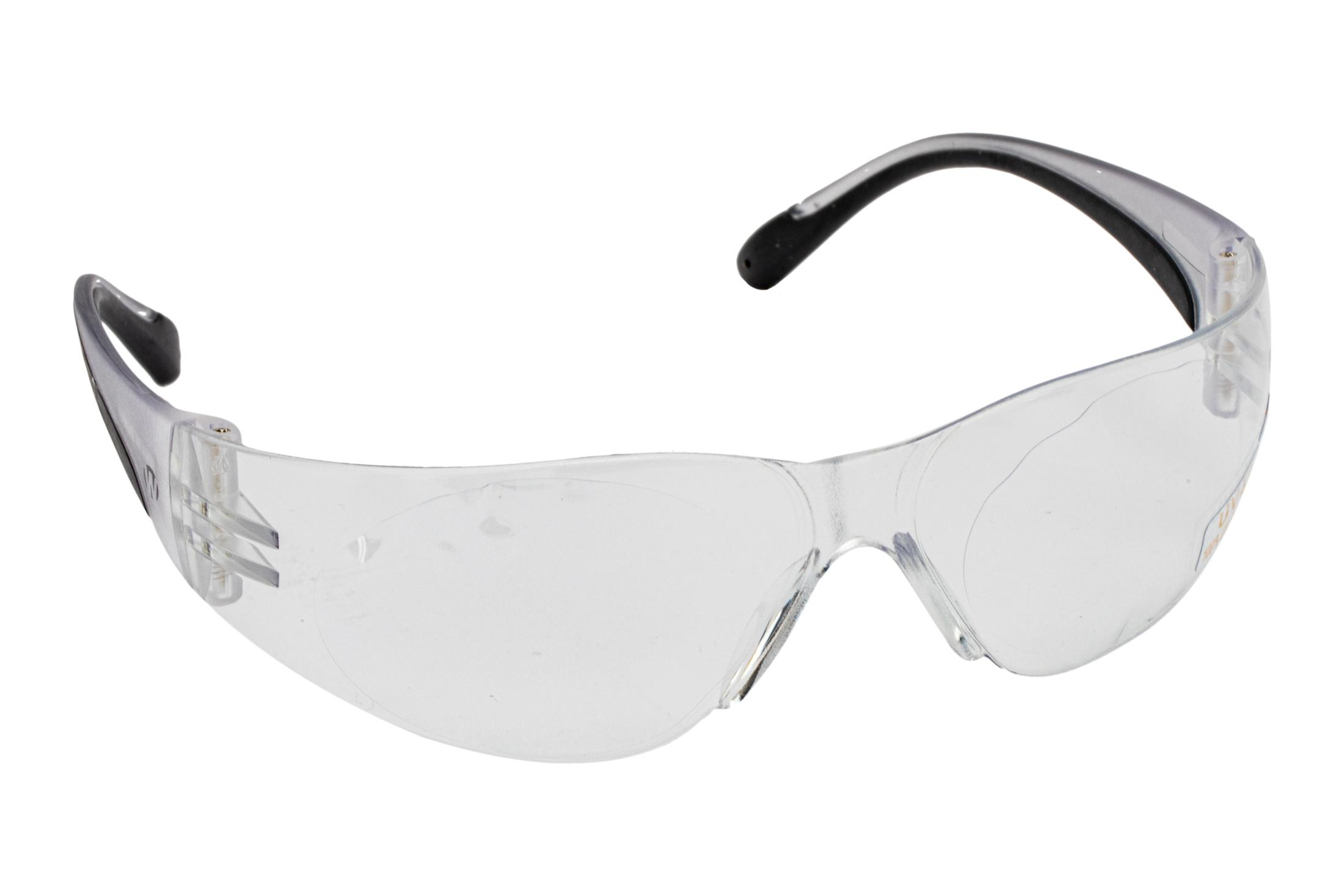 The Walkers clear shooting glasses for women and youth feature high impact resistant polycarbonate lenses