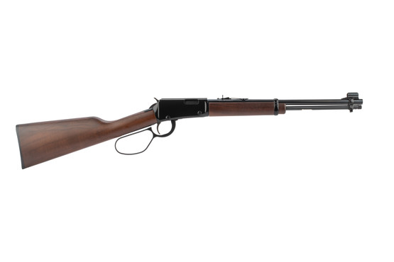 Henry Classic 22lr lever action rifle with a large loop for better ergonomics