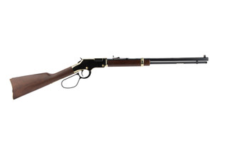 Henry Golden Boy 22 Magnum lever action rifle features a large loop lever
