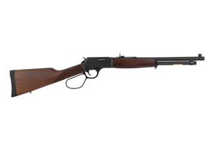 Henry Big Boy Steel 45 LC levr action rifle features a 16 inch barrel
