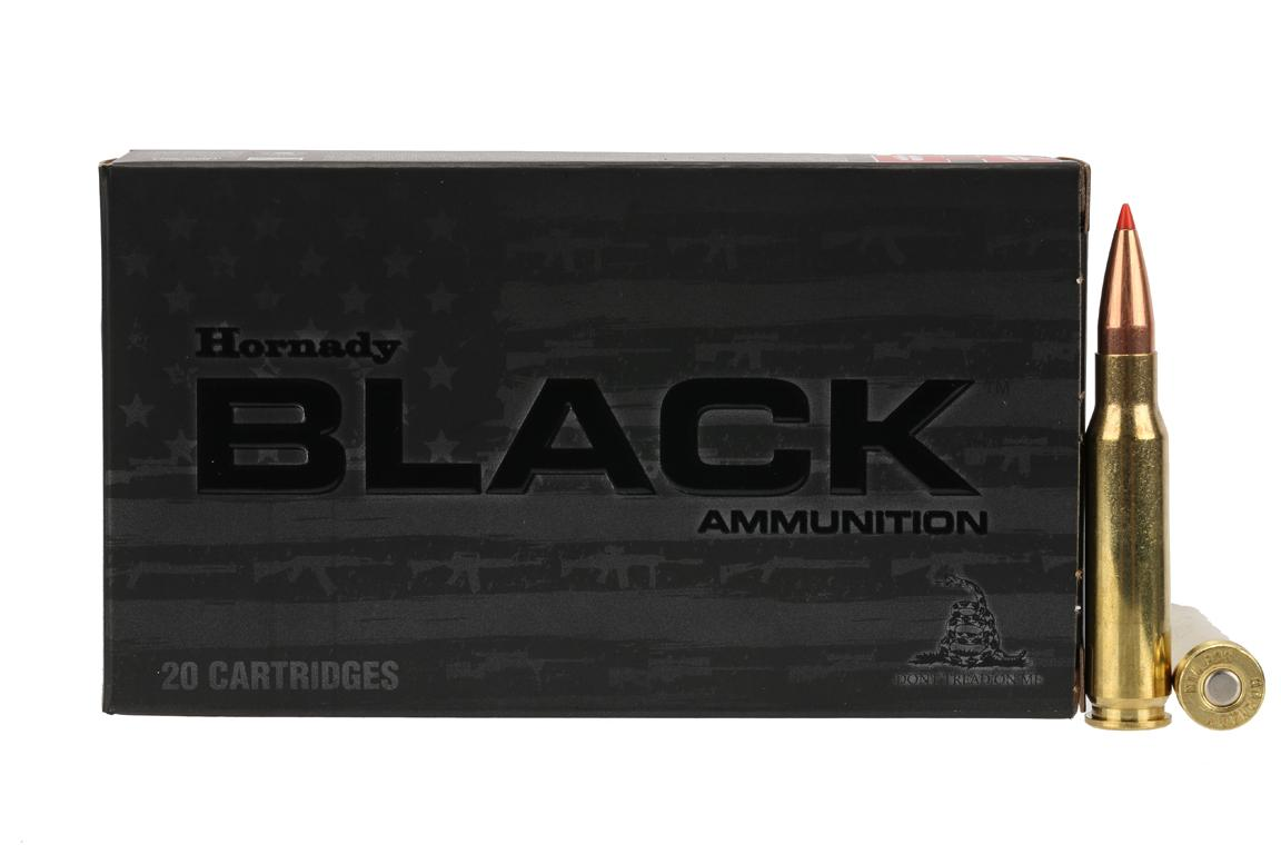 Hornady Black .308 Winchester 168 gr A-MAX - Box of 20