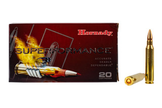 Hornady Superformance 5.56 NATO hunting ammo features the GMX lead free 55 grain bullet