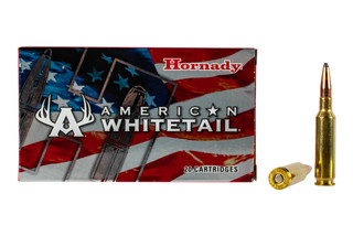 Hornady American Whitetail 6.5 Creedmoor is loaded with the 129gr InterLock Soft Point bullet