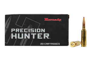 Hornady Precision Hunter 6.5 PRC ammo features the ELD-X 143 grain bullet