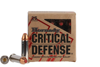 Hornady Critical Defense 38 Special ammo features the FTX bullet