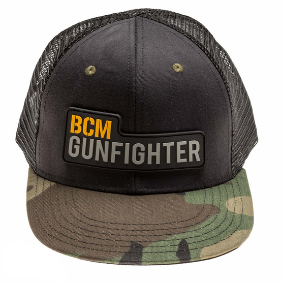 Bravo Company Gunfighter hat with woodland camo