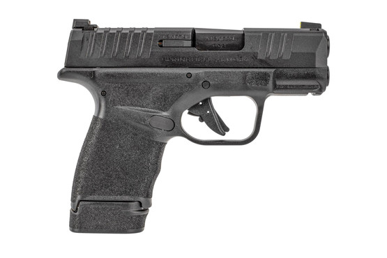 Springfield Armory Hellcat 9mm pistol features a steel slide with Melonite finish