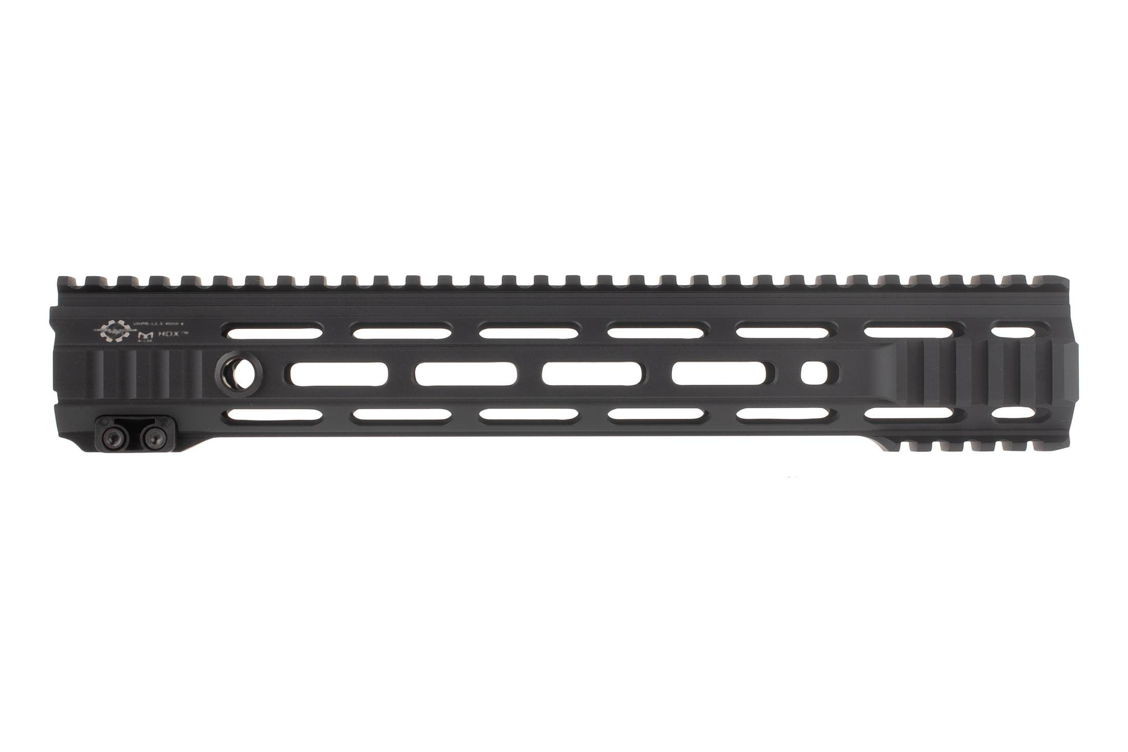The Cross Machine Tool Mod 4 HDX UHPR Handguard 12.5 is machined from 7075-T6 aluminum