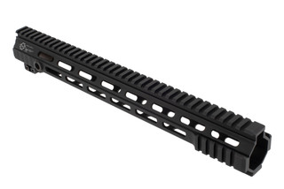 The Cross Machine Tool Mod 4 HDX Handguard 15 features minimal picatinny rail to reduce weight