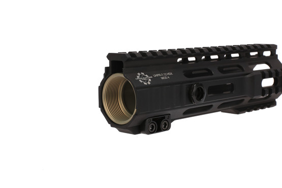 The CMT UHPR Mod 4 HDX Free Float handguard is machined from 7075-T6 aluminum