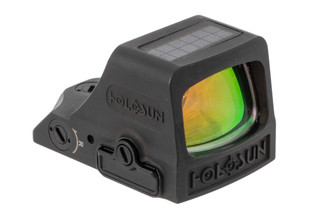 Holosun HE508T-X2 red dot sight features a titanium construction