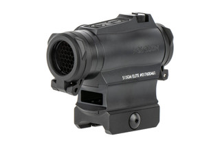 Holosun HE515GM-GR Elite is a compact 2 MOA solar powered green dot sight with 65 MOA circle dot reticle
