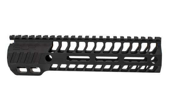 "SLR Rifleworks HELIX series 8.5"" M-LOK rail for the AR-15 with full length top rail with black anodized finish."