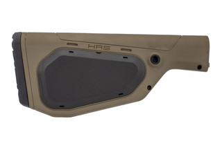 The Hera Arms HRS fixed A2 buttstock in OD Green is designed for rifle length buffer tubes