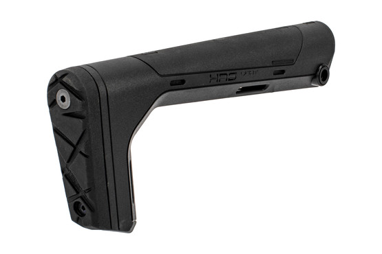 Hera Arms HRS Light fixed stock features a rubber buttpad