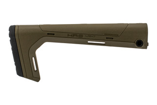 Hera Arms HRS Light fixed stock features an Olive Drab Green color