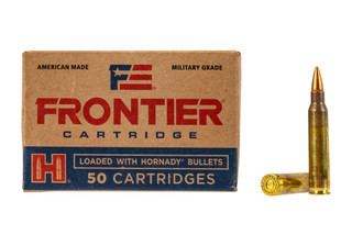 Hornady Frontier 556 hollow point match ammo 55gr comes in a box of 50 rounds
