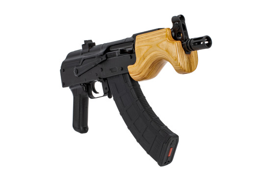 The Century International Arms Micro Draco AK Pistol is chambered in 7.62x39mm