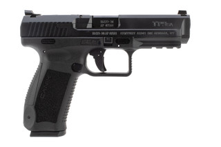 Canik TP9SA 9mm pistol features an 18 round capacity