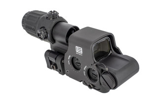 EOTech HHS system includes a GREEN EXPS2-0 holographic weapon sight with G33 flip-to-side magnifier