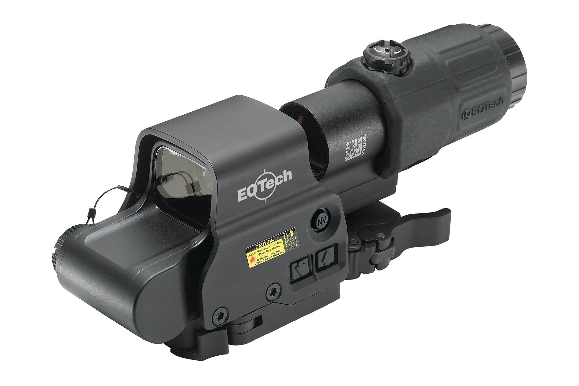 EOTech EXPS3-4 w/ G33 Magnifier and STS Mount