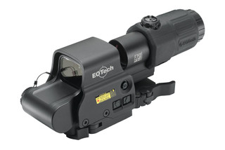 The EOTech EXPS3-4 Holographic weapon sight with G33 magnifier is great for close and mid range shooting