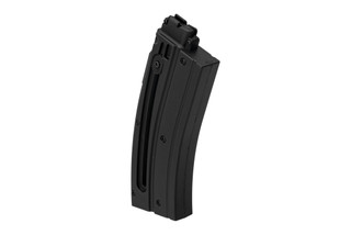 Heckler & Koch 416 22lr magazine holds 20 rounds of ammo