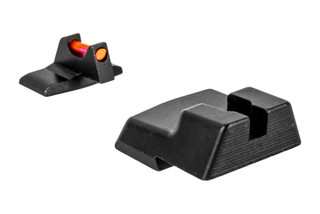 Trijicon's Fiber Sight Set for H&K HK45 and HK45 Tactical handguns is a high-contrast competition and carry sight set