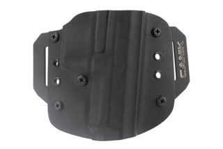 Canik 9mm right hand holster has an open end and features adjustable retention capabilities