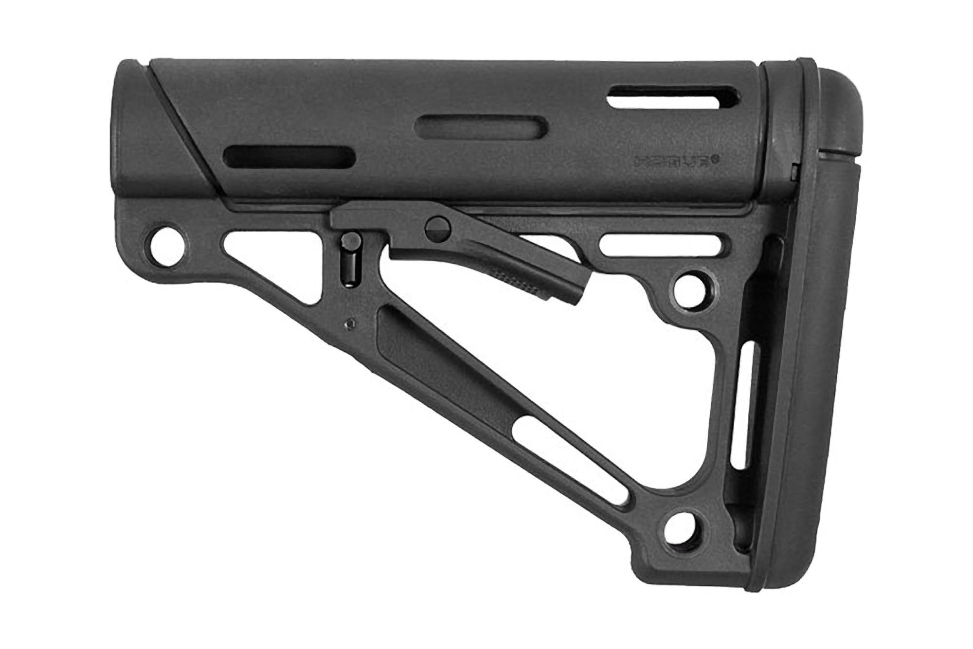 Hogue Mil-Spec OverMolded Collapsible Buttstock - Black