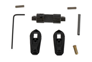 The Hiperfire Hiperswitch ambidextrous AR15 safety selector features two full length black polymer levers