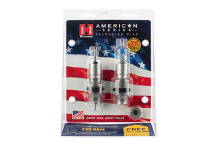 Hornady American Die Set 2 is designed for .223 Remington cases