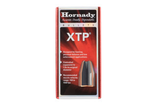 Hornady XTP 38 caliber bullets 125 grain come in a box of 100