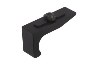 The SLR Rifleworks Mod 2 M-LOK hand stop is made from anodized aluminum and has a smooth face