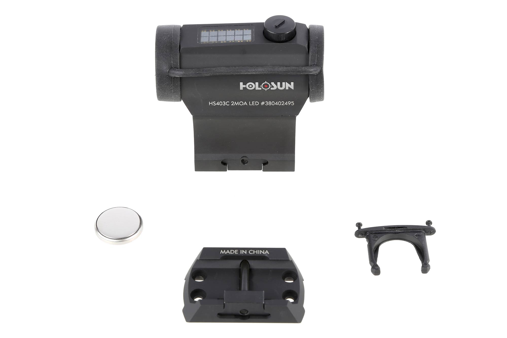 Holosun HS403C Paralow Solar Powered Red Dot Sight - 2 MOA