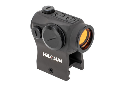 The red dot ar sight from holosun features the acss cqb reticle