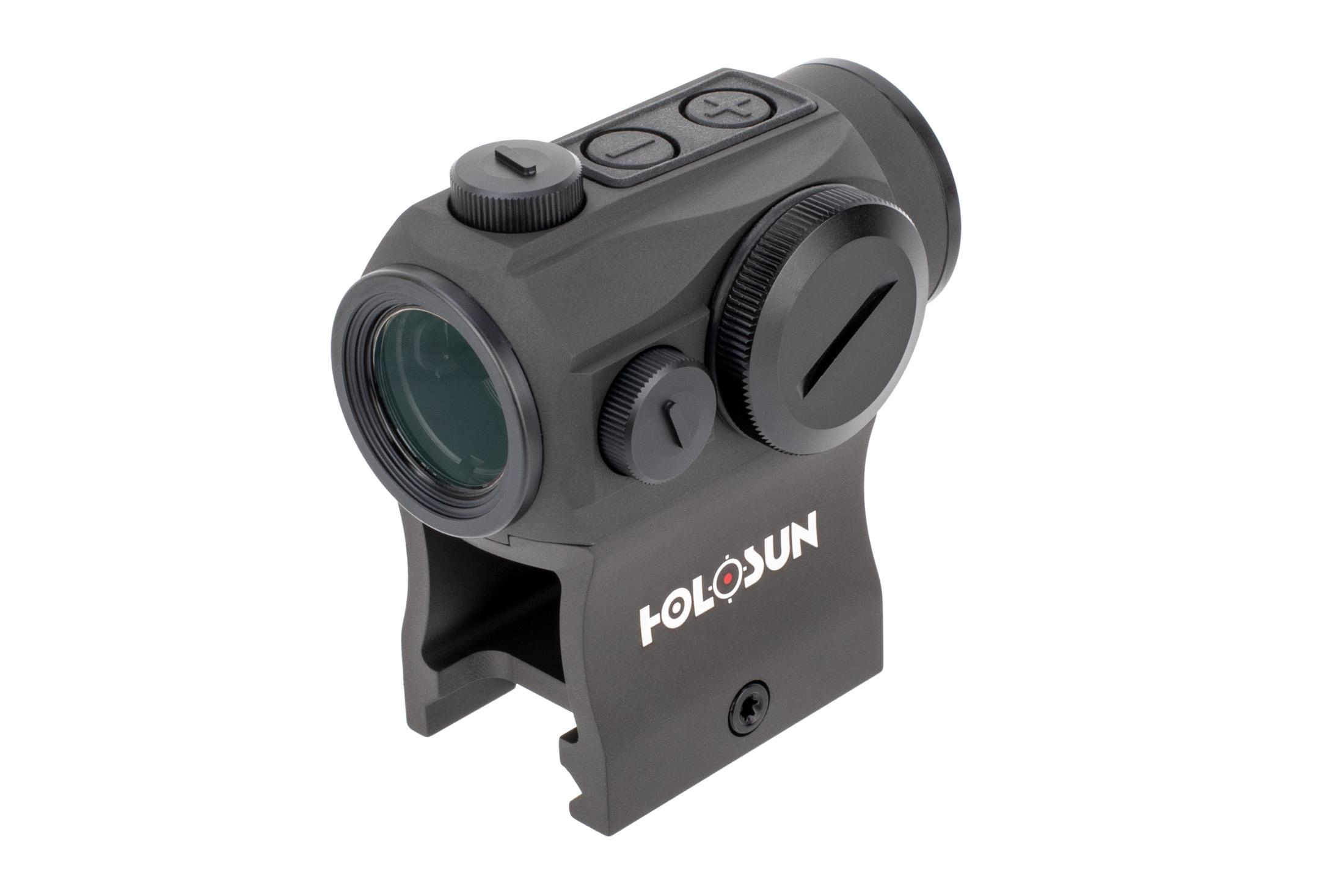 The Holosun Paralow HS503G Red Dot Sight with ACSS CQB Reticle features accurate bdc