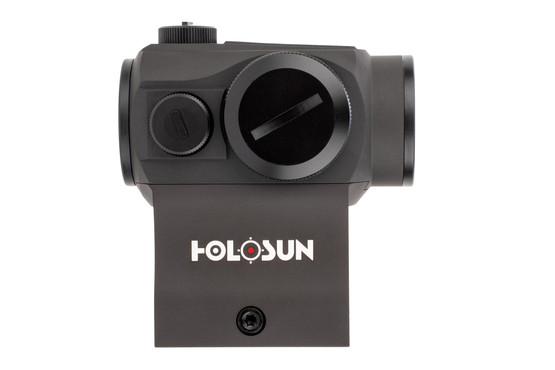 The holosun micro dot sight comes with rubber scope lens covers