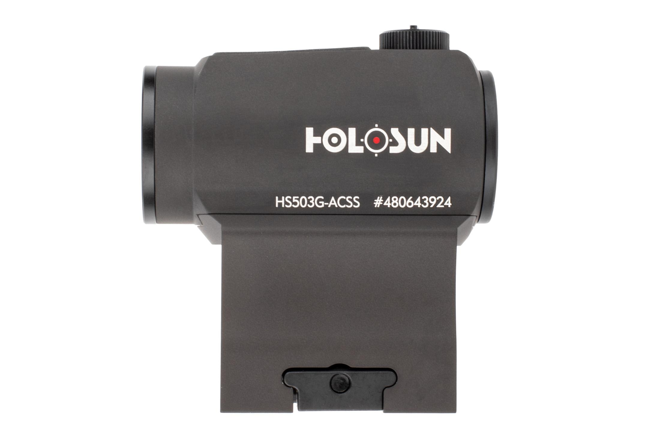 The ar15 red dot sight by holosun has 10 illumination settings