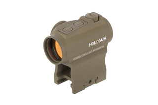 The red dot ar sight by holosun features an illuminated 2 moa red dot