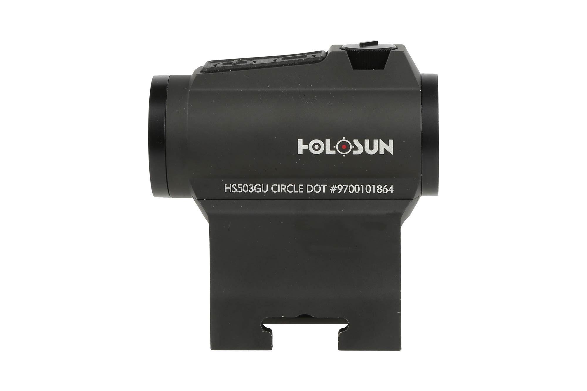 Holosun 2 MOA Red Dot Sight with a 65 MOA Circle