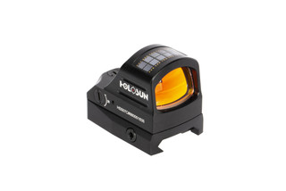 Holosun solar powered 507C compact micro reflex pistol red dot sight features 10,000 hours of battery life