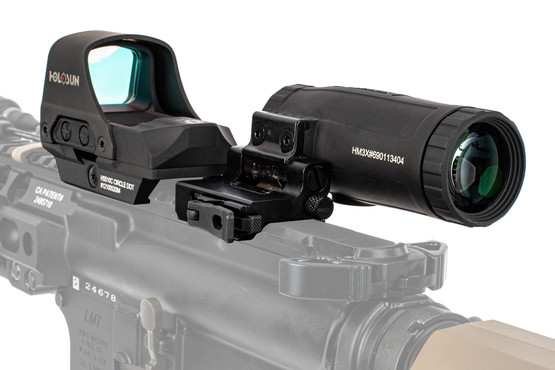 Holosun HS10C HM3X mgifier and red dot combo for the AR-15