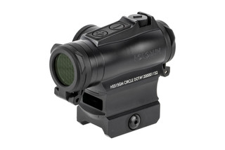 Holosun HE515GM Elite is a compact 2 MOA solar powered red dot sight with 65 MOA circle dot reticle