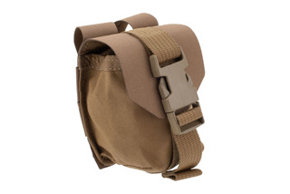Blue Force Gear Single Frag Grenade Pouch in Coyote Brown
