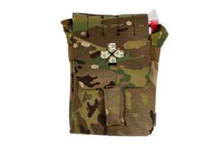 The Blue Force Multicam Gear Trauma Kit Now comes filled with medical supplies